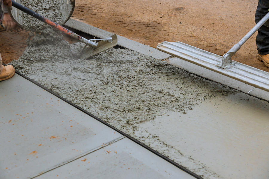 Elite Properties offers other services such as concrete - Dumpster Rental/Junk Removal -Waterproofing/Foundation Repairs